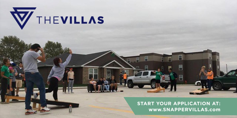 The Villas: on-campus student housing