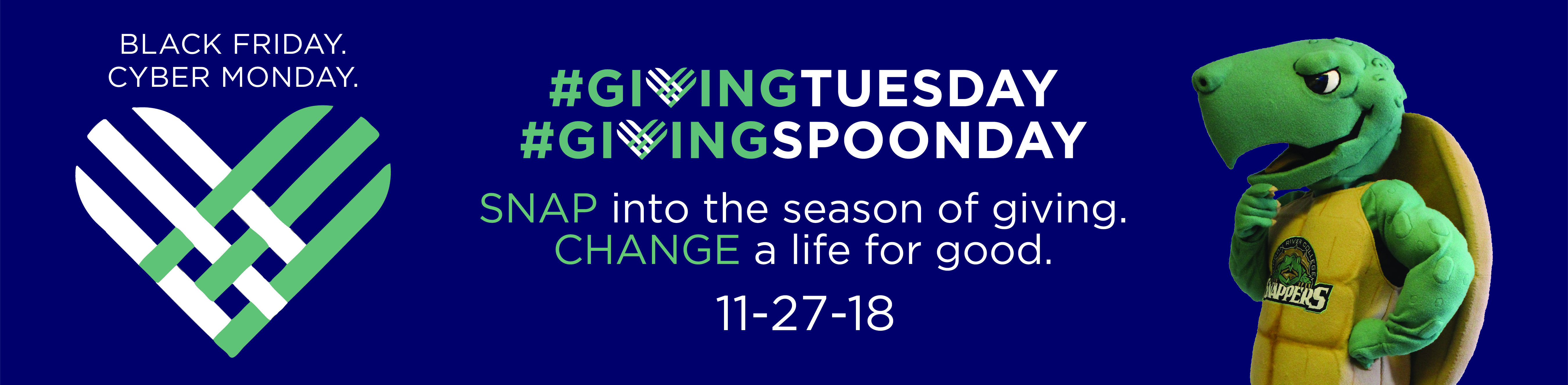 #GivingSPOONday is November 27!